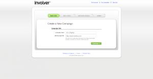 involver set up campaign