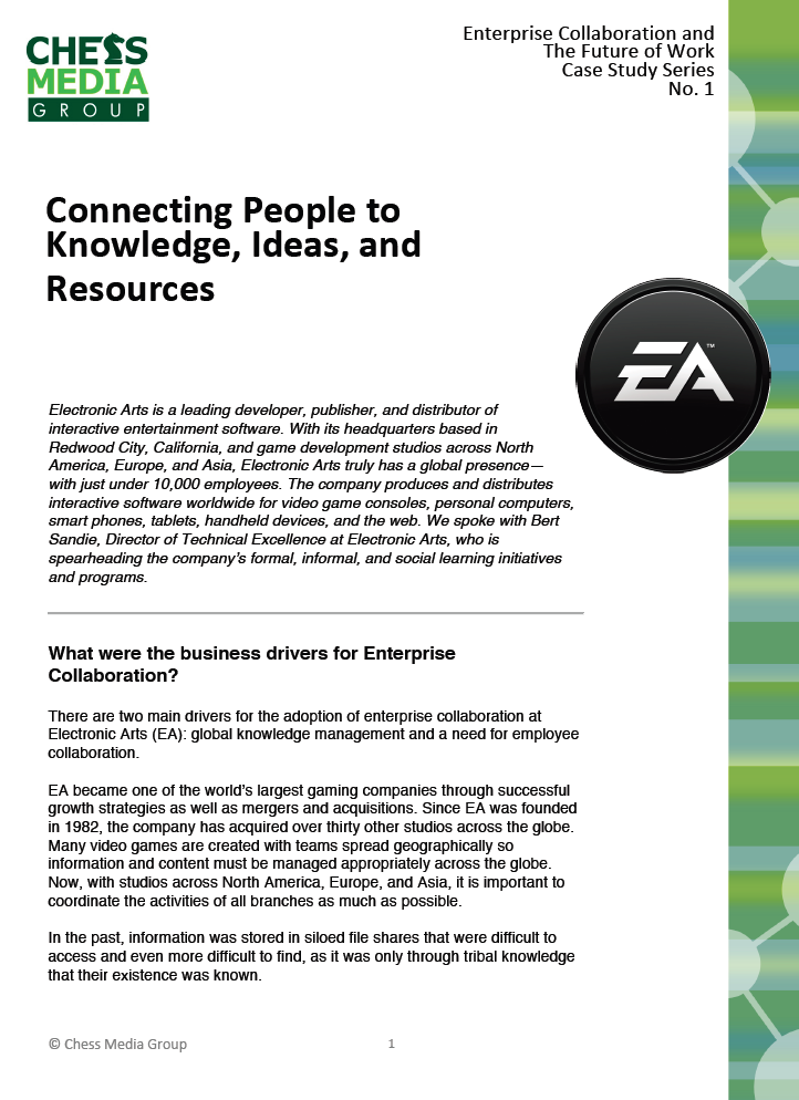 electronic arts case analysis Explore mobile video games from electronic arts, a leading publisher of games for the pc, consoles and mobile.