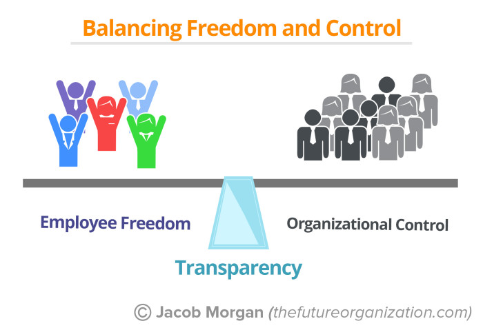 Employee Freedome vs Org Control 18