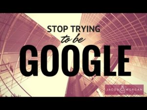 Why You Should Stop Copying Google
