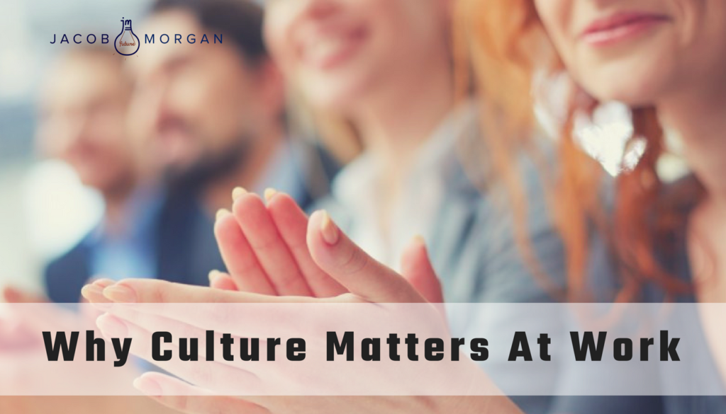 why culture matters Why is corporate culture important culture matters you hear it all the time, and you might even say it all the time we don't think anyone will argue with the statement, but why does it matter.